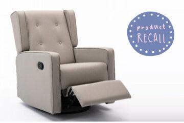Recalled aldi nursing chair