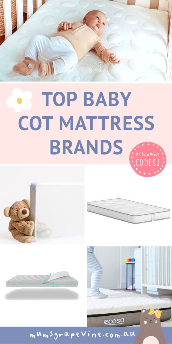 Where to buy baby cot mattress brands in Australia for 2021 | Mum's Grapevine