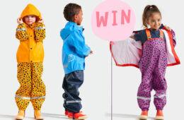 MK Nordika Kids raincoats