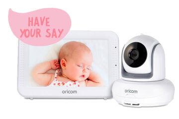 Oricom SC875 Baby Monitor callout