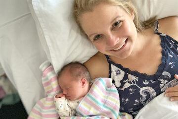 Birth story Amy Mclennan