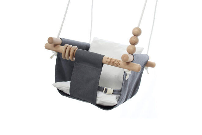 Monkey and Mouse Toddler Swing