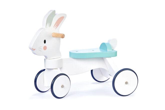 Tender Leaf Toys Kids Running Rabbit Ride-On Toys