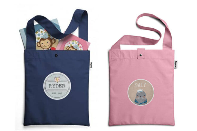 Tinyme Library Bags