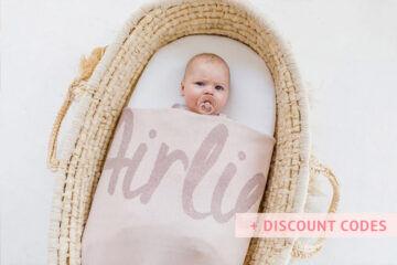 Best personalised blankets in Australia | Mum's Grapevine
